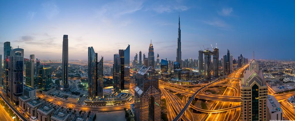 Another early morning in Dubai, Dubai, UAE