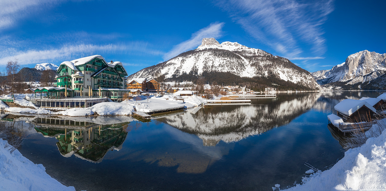 Seevilla hotel at the Altausseer See, Austria