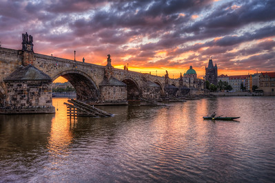 Fisherman an the Bridge I know..I know.. another one of the Charles bridge. But if you had a photo like this, wouldn't you share it? :)