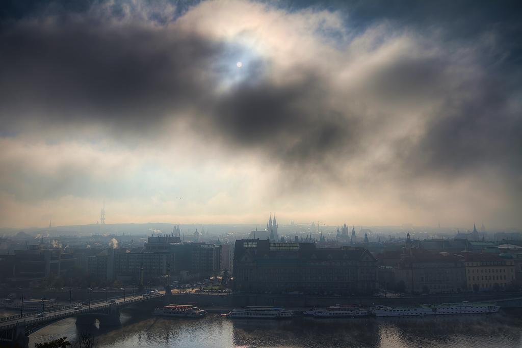 Saturday, foggy Saturday