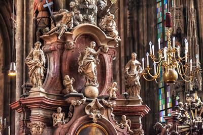 Detail in the church Back to HDR shots after a week