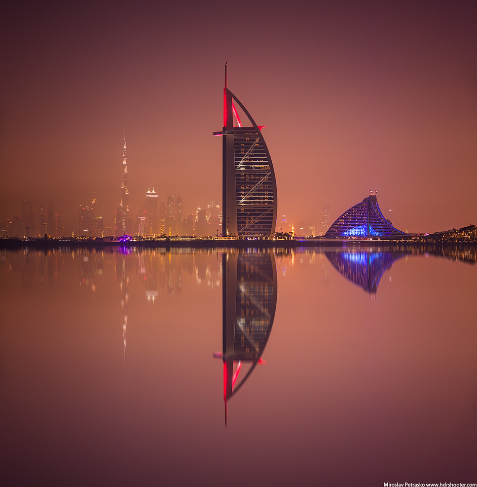 One more reflection, Burj Al Arab, Dubai, UAE