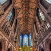 <h2>The ceiling of the Lady Chapel</h2> Just to add to the variability on my blog I edit old photos from time to time. And this is one from my visit to Liverpool in 2010.