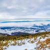 <h2>Panorama from Rocky Mountain Lake</h2>