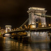 <h2>The rainy evening in Budapest</h2> Such a lovely bridge this is, I could spend days just taking photos of it. Same with all the other bridges in Budapest.