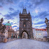<h2>Charles Bridge tower</h2> Another one from the Charles Bridge.