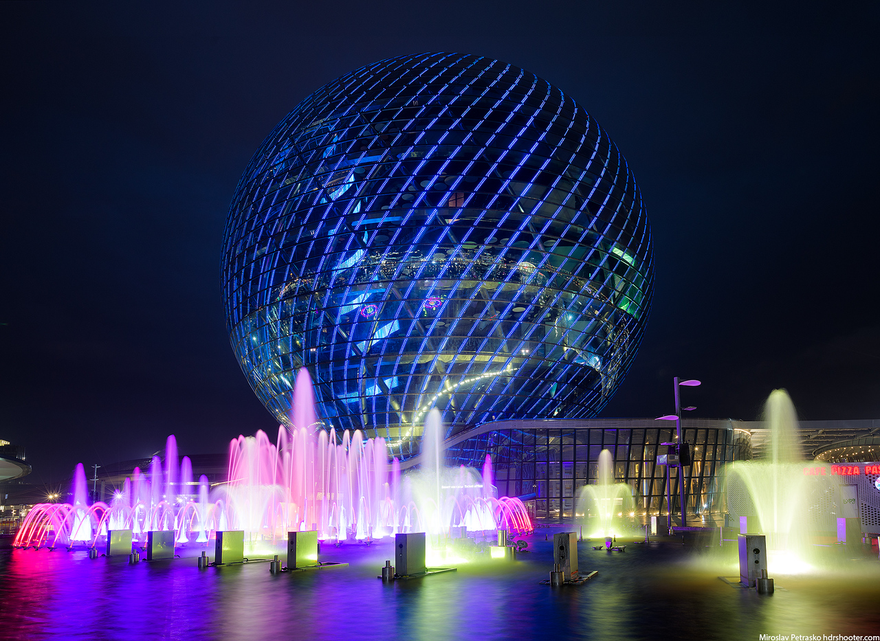 Sphere in Nursultan, Kazakhstan