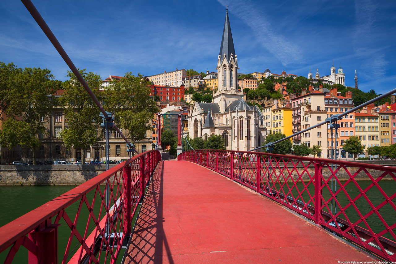 Paul Couturier bridge in Lyon