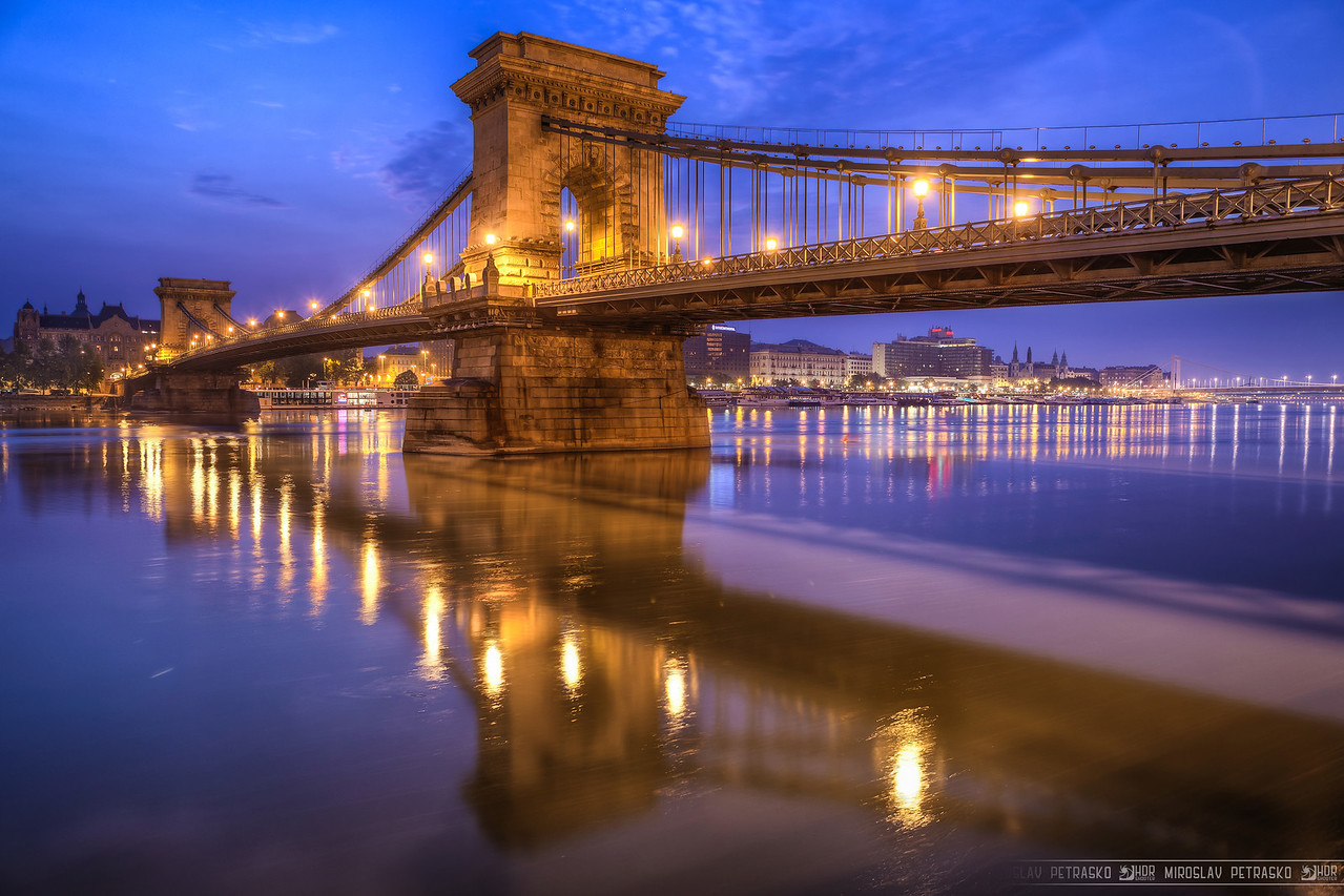 Other side of the bridge If you look my other Budapest photos, you will notice, that there is one quite similar to this one. Simple reason, same time, same subject, just different composition (and place I was standing :) )