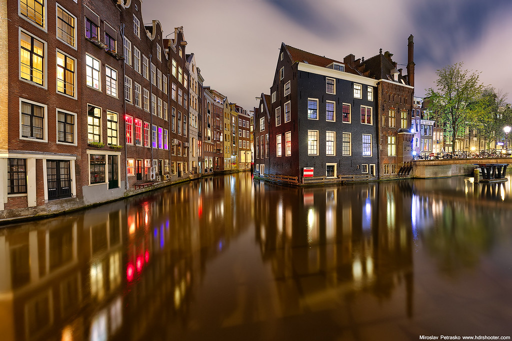 Late night Amsterdam