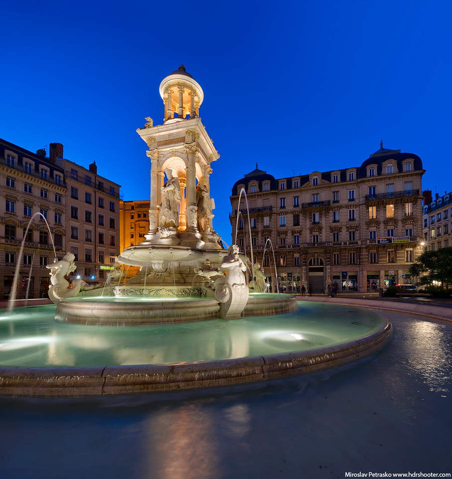Place des Jacobins, Lyon, France