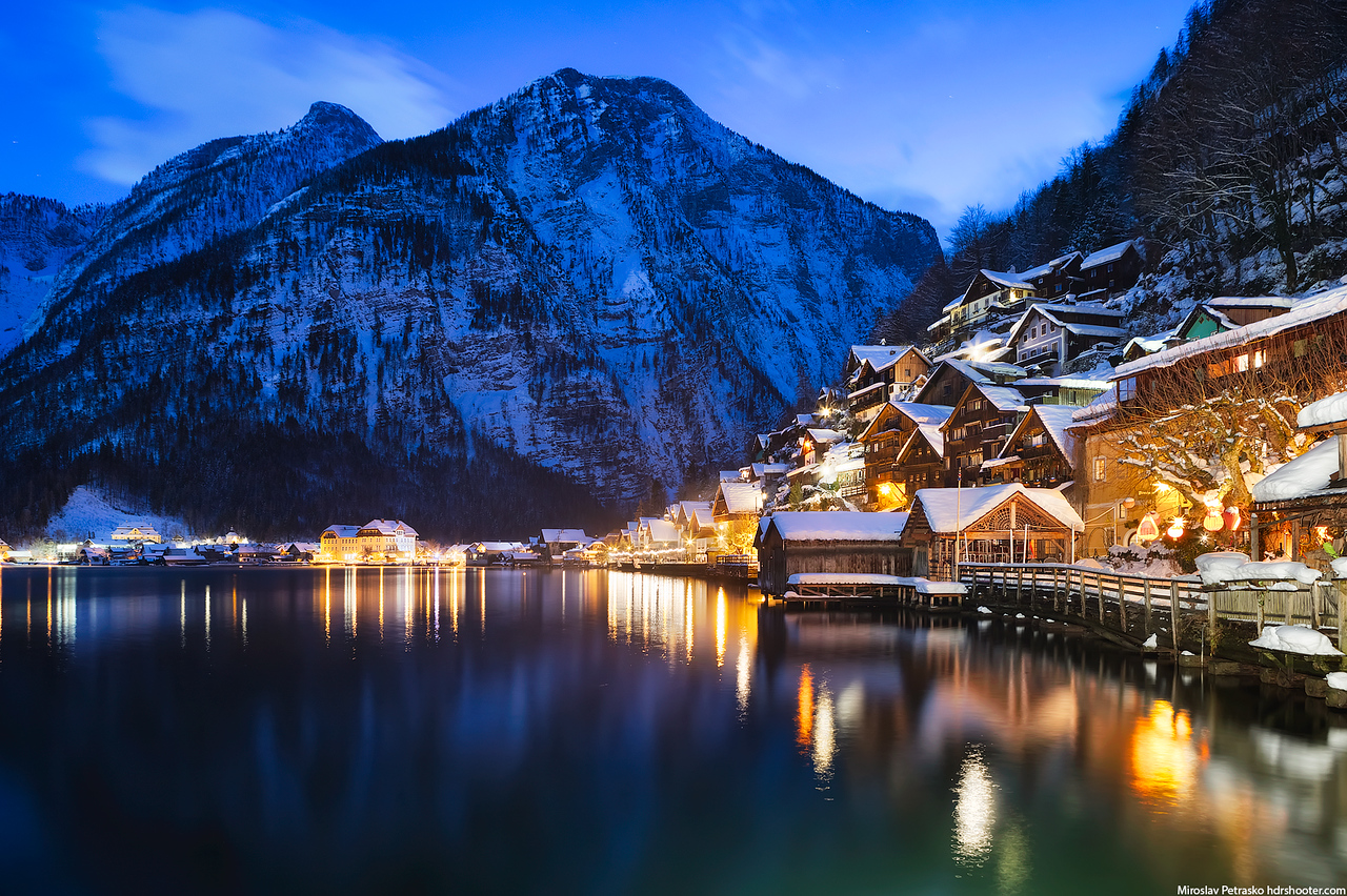 Down at the Hallstatter see