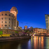 Blue hour in Vienna