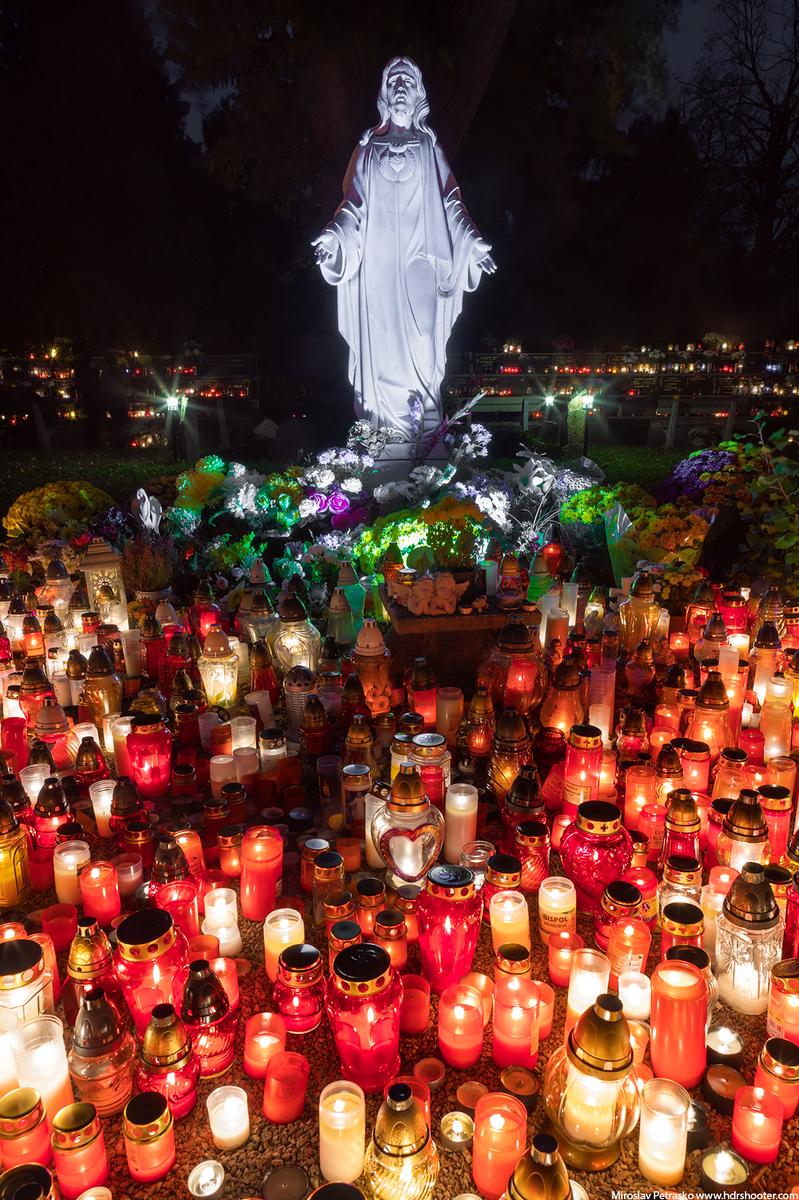 All Saints' Day Bratislava Slovakia