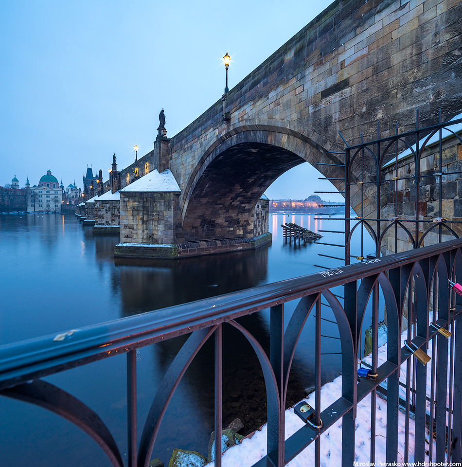 Cold morning in Prague