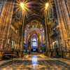 In the Cathedral<br /> <br /> Cathedrals are such a great subjects for HDR. With all those details and usually a very weak lighting :) This one ose taken in the Liverpool Cathedral.<br /> <br /> HDR from three shots, taken with Canon 450D with Sigma 10-20mm lens from a tripos