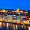 Evening in Zurich