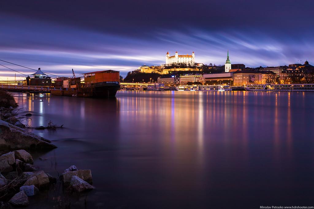 Mirror like Danube, Bratislava, Slovakia
