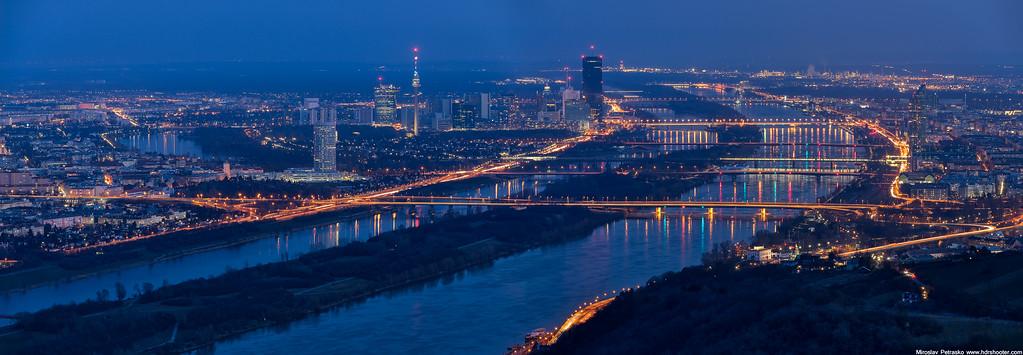 Bridges over Danube