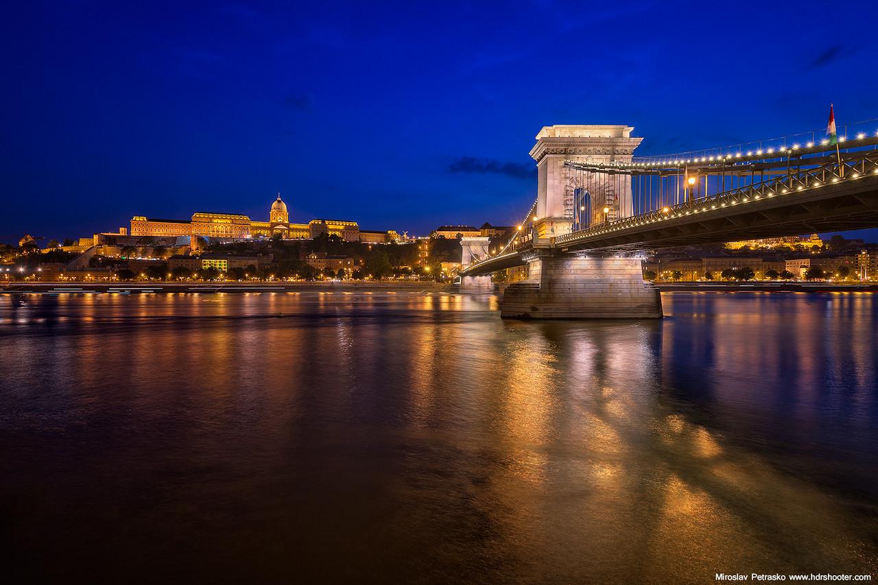 Summer evening in Budapest