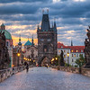 <h2>Charles Bridge morning</h2>  One of the worst things you can encounter while editing a photo is a slow computer. And my is slowly driving me crazy. It's a great PC, I have it already for more than 5 year without any problems, but the Lighroom, Bridge and Photoshop combo is just too much for it recently. I'm already looking for a new one.. something really fast :)  About the photo. This one is taken early morning on the Charles Bridge, right at the time the sunrise started :)