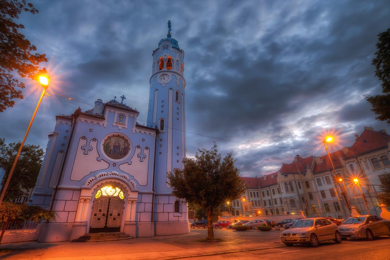 Blue Church Bratislava Blue Church