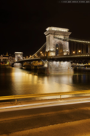 The golden Chain bridge