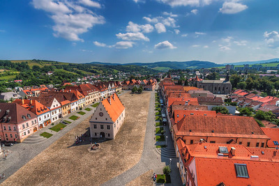 Sunny day in Bardejov One of my older photos from the beautiful city of Bardejov