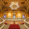 <h2>The beauty of the opera stairs</h2> The most beautiful place in the opera is always the main room with the stage. But the stairs are usually not that much behind.