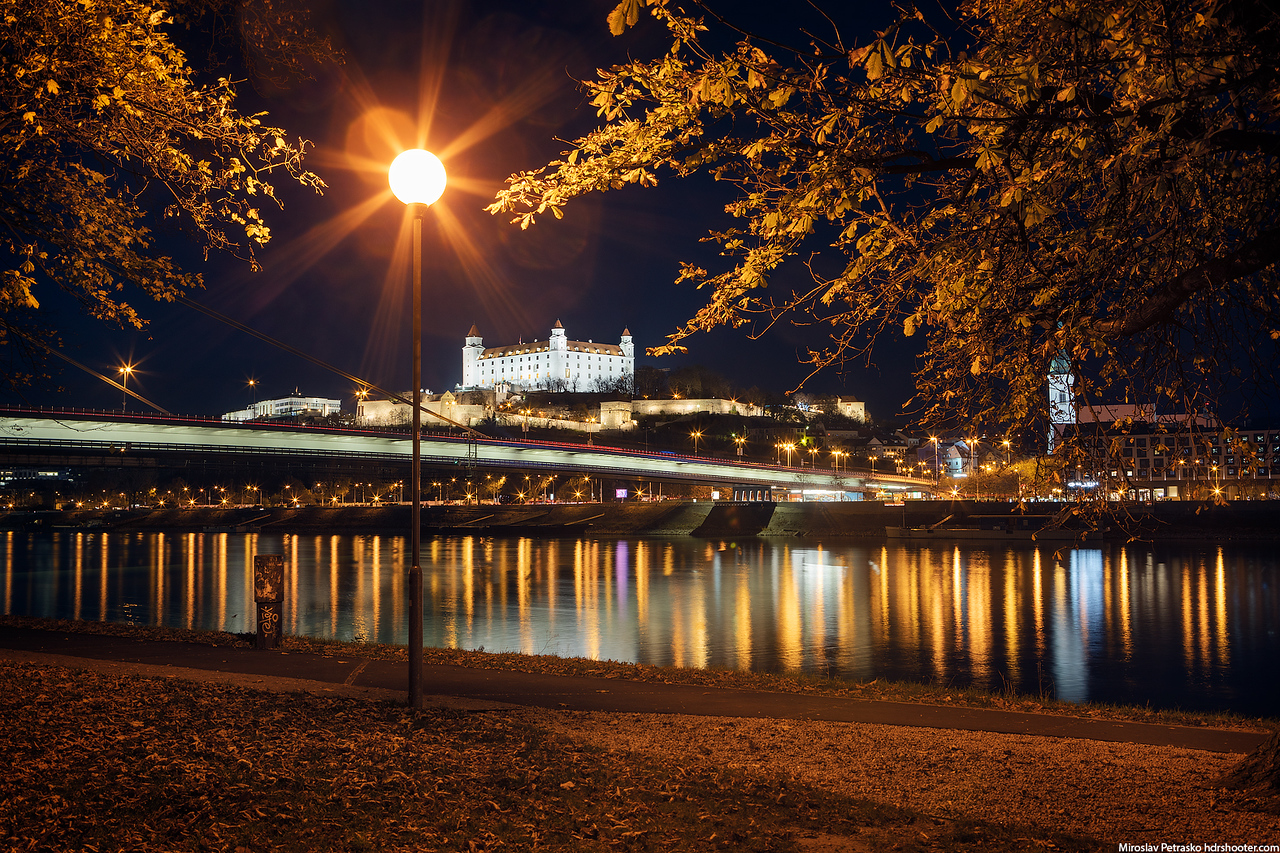 Autumn in the city, Bratislava, Slovakia