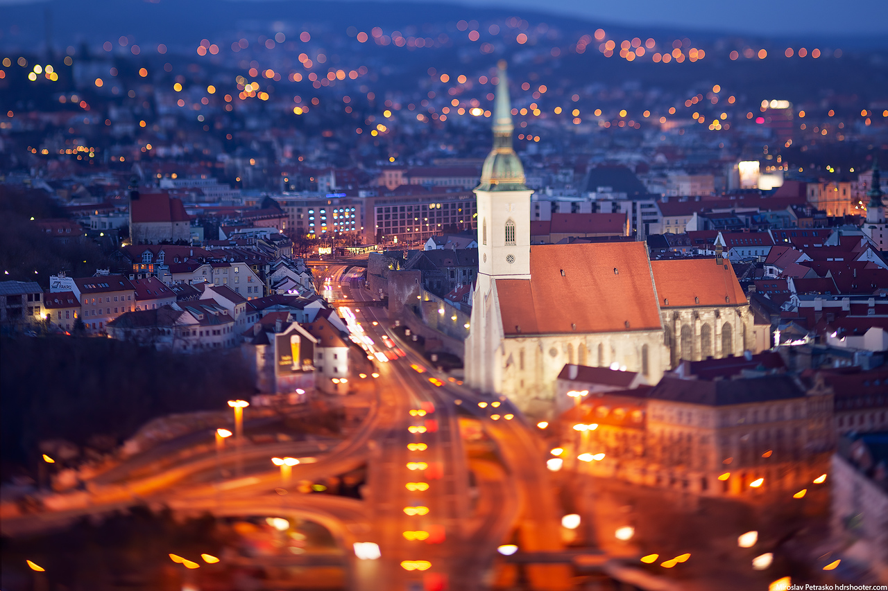 The tiny cathedral, St Martin's Cathedral, Bratislava, Slovakia