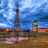 <h2>The Eiffel tower in Bratislava</h2> I had no idea there is one in Bratislava. I just stumbled across it one evening.