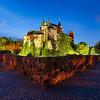 Path around the Bojnice castle