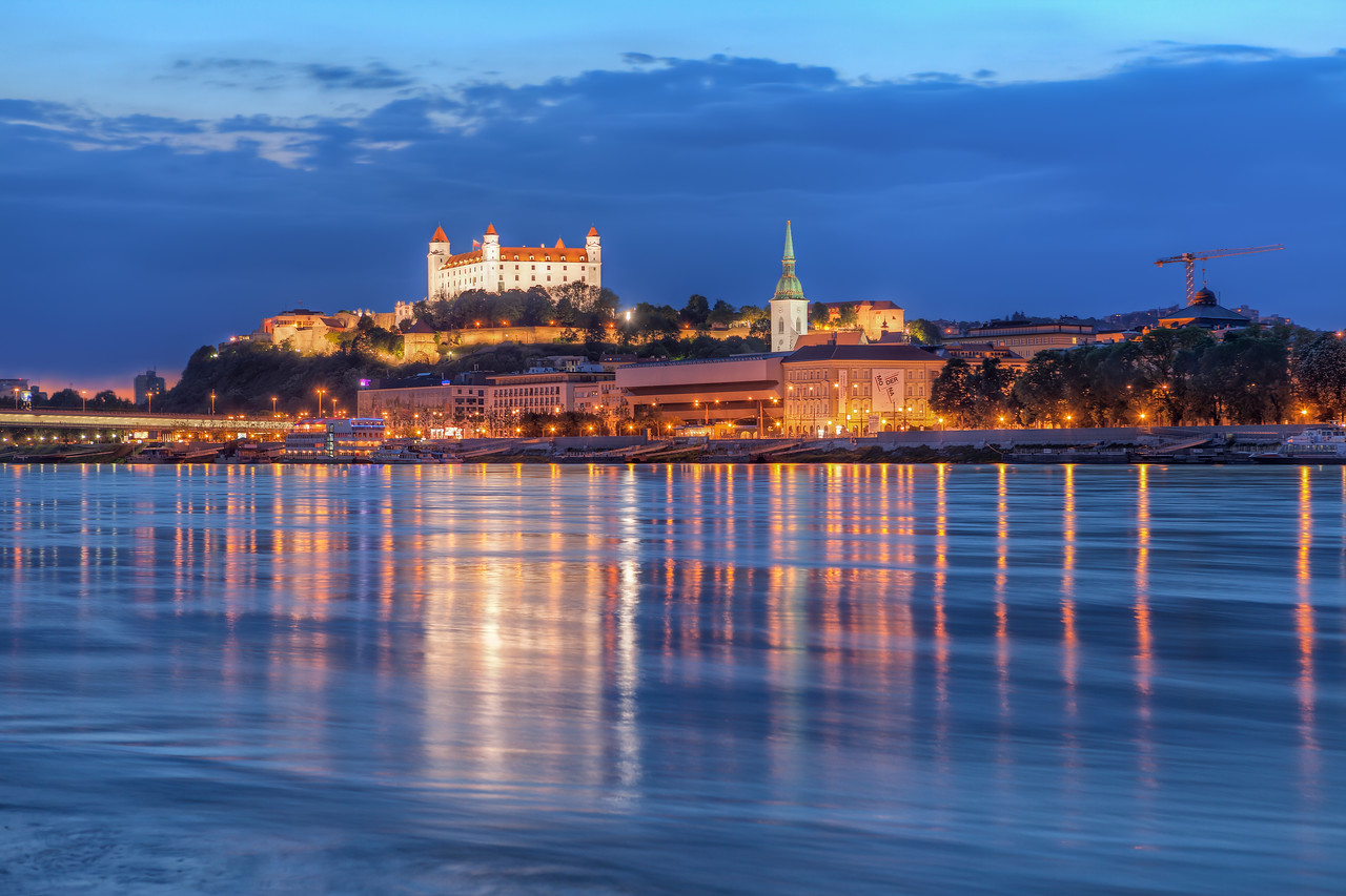 The blue Danube One of my top 5 favorite spots to photograph in Bratislava