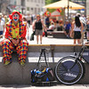 <h2>Sad clown is sad</h2> What do you do when it's 35 degrees outside, clear and sunny and you are a landscape photographer? You go out taking photo of something else :) And that is what I did :)