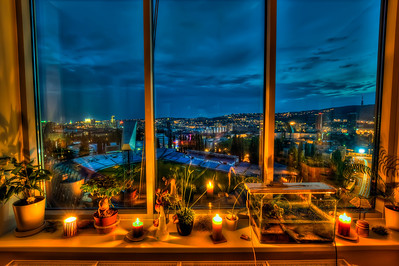 Candlelight view
