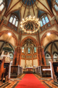 Church of the Visitation of the Virgin Mary  Long time no interior shot, so here is one :). The Church of the Visitation of the Virgin Mary in Breclav is really beautiful one to visit. I can't decide if it looks better from the inside or outside :)  HDR from three shots, taken with Canon 450D with Sigma 10-20mm lens, from a tripod.