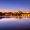 <h2>Soft sunset in Prague</h2> Sometimes you have nice clouds and sometimes you just don't need them.