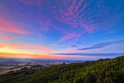 Soft clouds   Continuing with my sunrise shots, here is another one :)  HDR from three shots, taken with Canon 7D with Sigma 10-20mm lens.