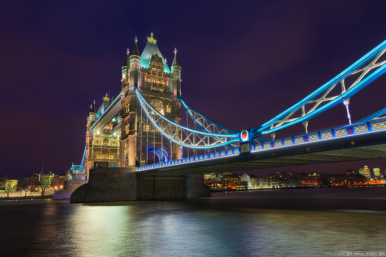 Colorful Tower Bridge