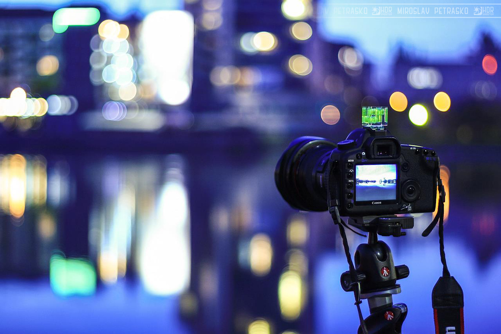 Behind the camera Just a shot of my camera :)