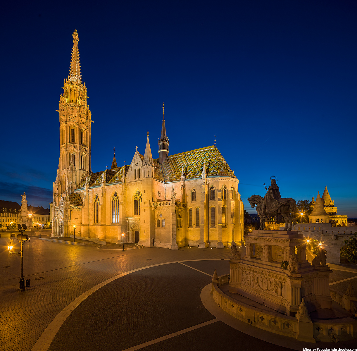 Evening at the Matthias Church