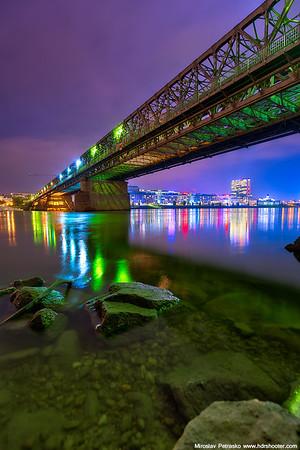 Under the green light