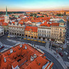 <h2>Lesser Town Square</h2> I think I haven't yet posted a view from this tower in Prague.