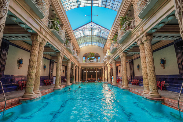 Clear water Another one from the Gellért Spa in Budapest