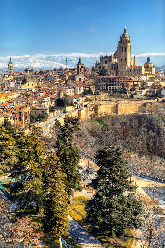 Storks in Segovia