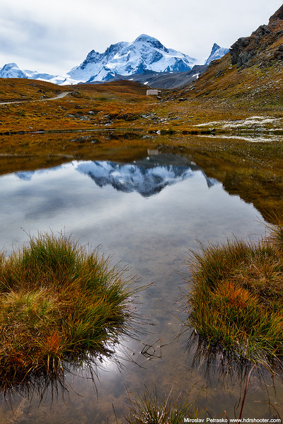 Schwarzsee reflection