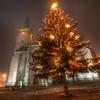 Christmas tree in Presov
