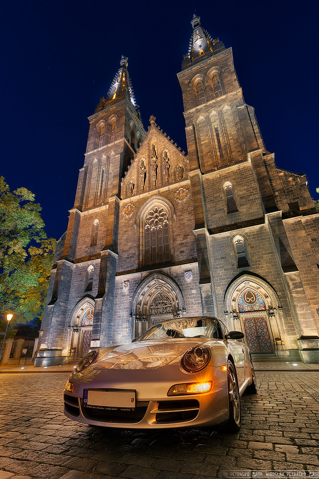 Porsche at the Vysehrad