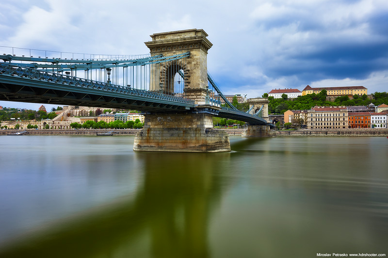 Cloudy shot from Budapest